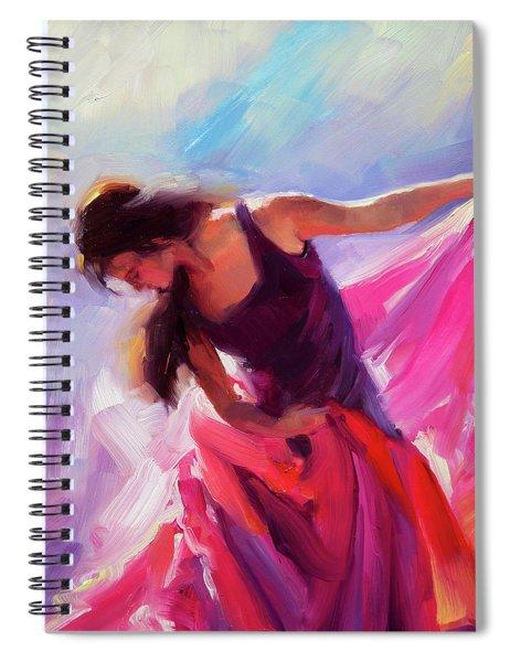 Magenta Spiral Notebook
