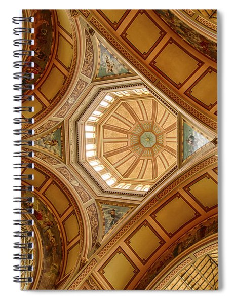 Magestic Architecture Spiral Notebook
