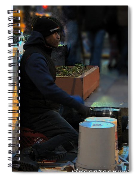 Magic In Love Park Spiral Notebook