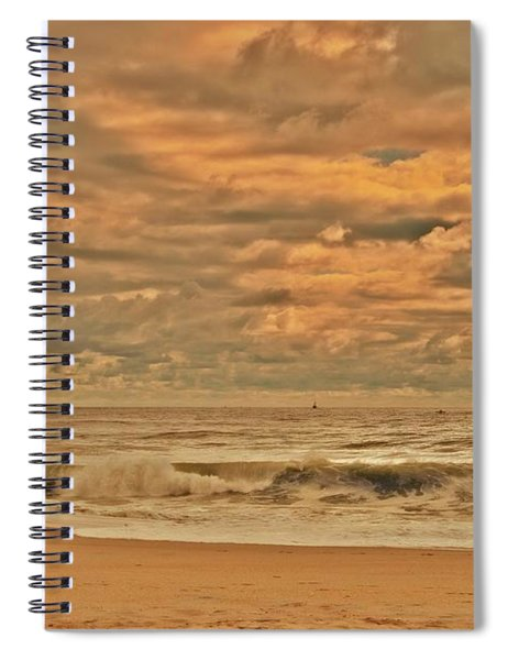 Magic In The Air - Jersey Shore Spiral Notebook