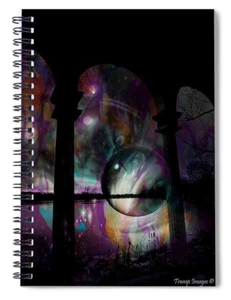Magic In The Ruins Spiral Notebook