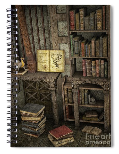 Magic Literature Spiral Notebook