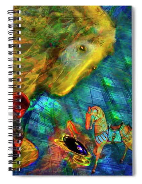 Magic Music Box Spiral Notebook