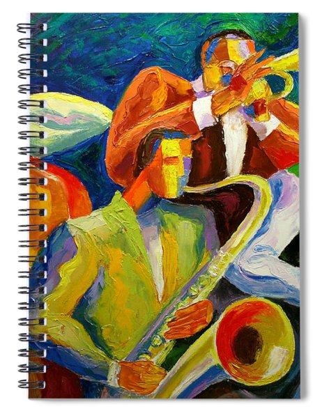 Magic Music Spiral Notebook