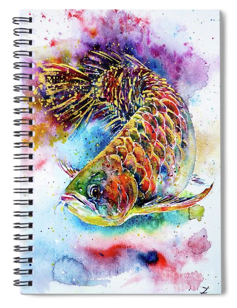 Magic Of Arowana Spiral Notebook