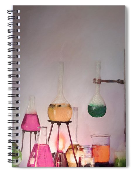 Magical Beakers Spiral Notebook