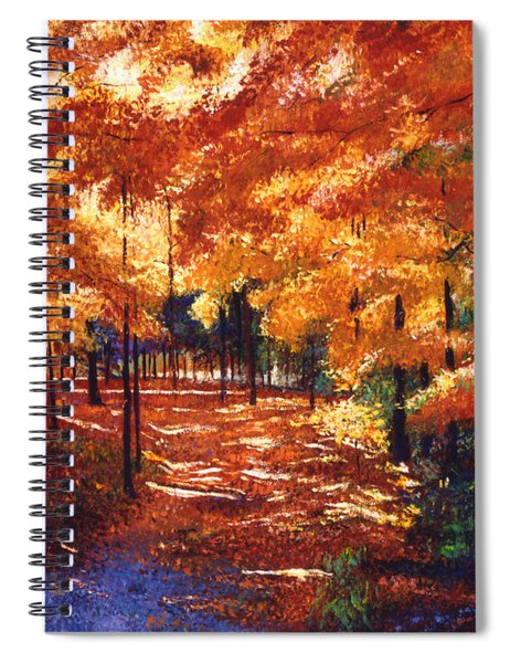 Magical Forest Spiral Notebook