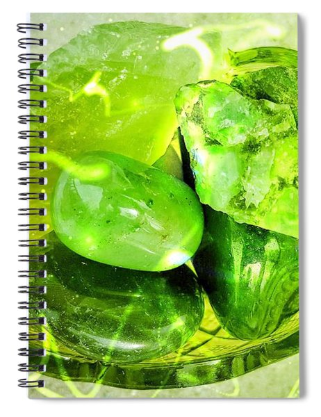 Magical Gemstones Spiral Notebook