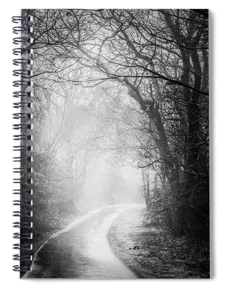 Magical Light Of Dawn Spiral Notebook