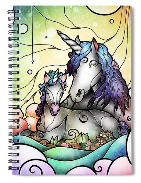 Magic Mama Spiral Notebook