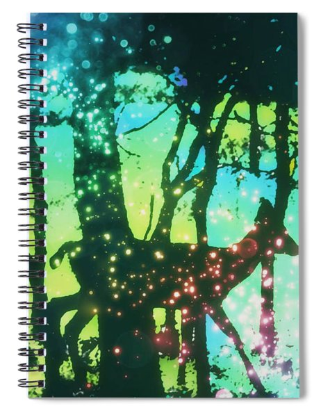 Magical Nature Spiral Notebook