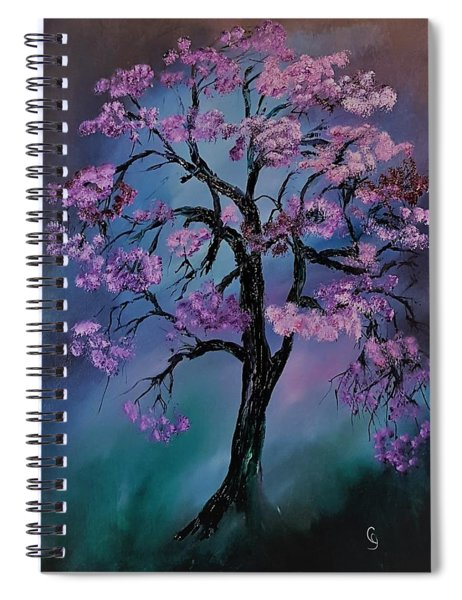 Magical Tree                  66 Spiral Notebook