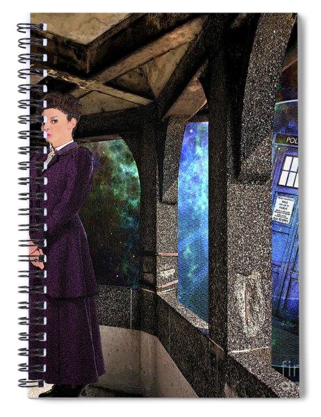 Magicians Apprentice Spiral Notebook