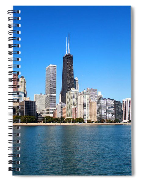 Magnificent Chicago Spiral Notebook