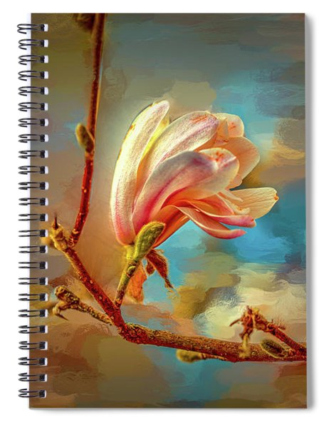 Magnolia Abs #h4 Spiral Notebook