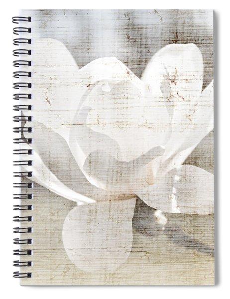 Magnolia Flower Spiral Notebook