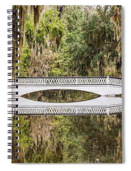 Magnolia Plantation Gardens Bridge Spiral Notebook