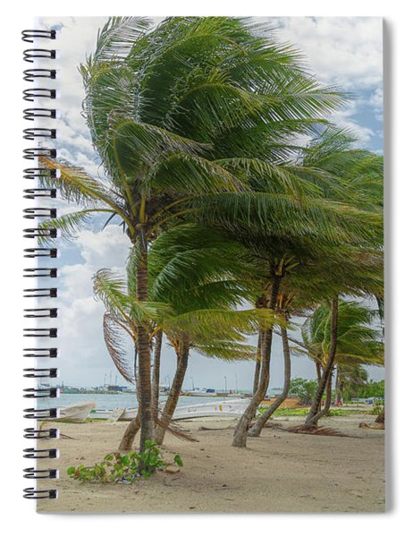 Mahahual Beach Spiral Notebook