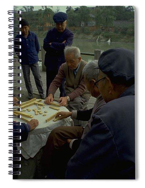 Mahjong In Guangzhou Spiral Notebook