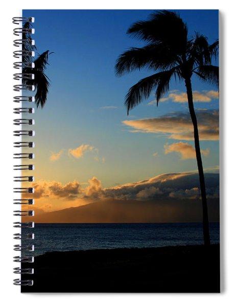 Mai Ka Aina Mai Ke Kai Kaanapali Maui Hawaii Spiral Notebook