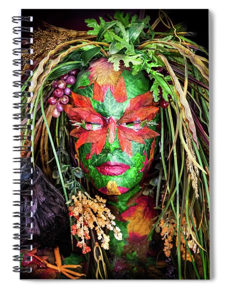 Maiden Of Earth Spiral Notebook