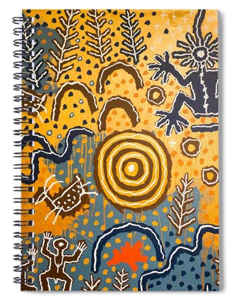 Maidu Creation Story Spiral Notebook