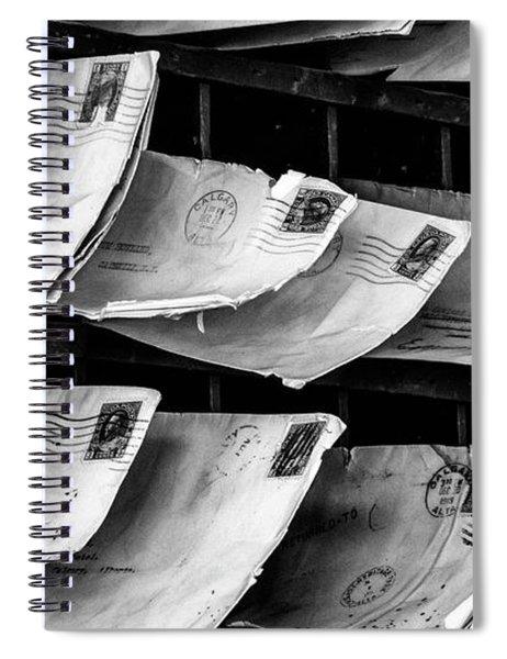 Mail Call Spiral Notebook