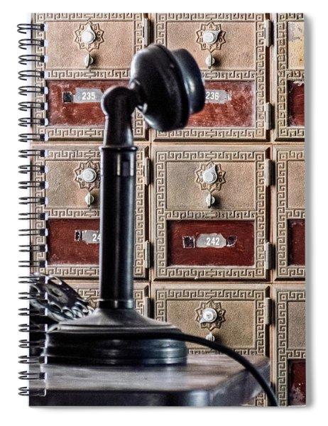 Mailbox 237 Spiral Notebook