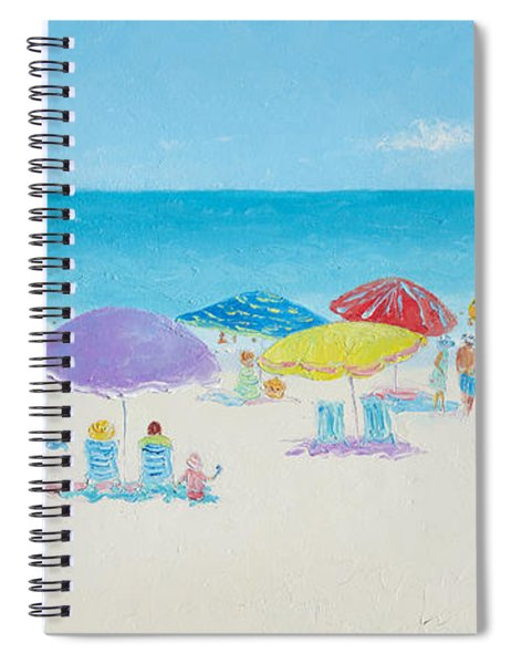 Main Beach East Hampton  Spiral Notebook