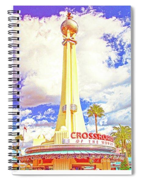 Main Entrance, Disney Hollywood Studios, Walt Disney World Spiral Notebook