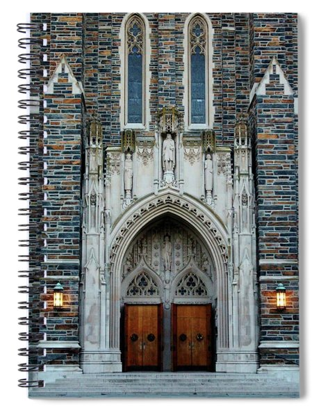 Main Entrance To Chapel Spiral Notebook