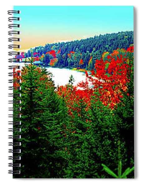 Maine Long Pond Acadia  Spiral Notebook