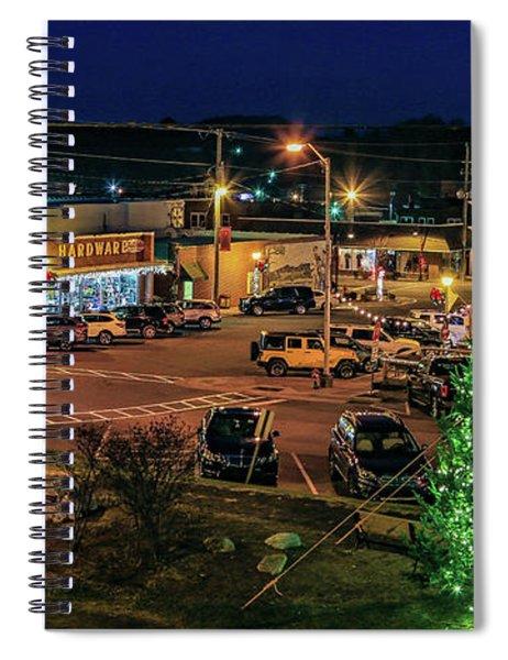Main Street Christmas Spiral Notebook
