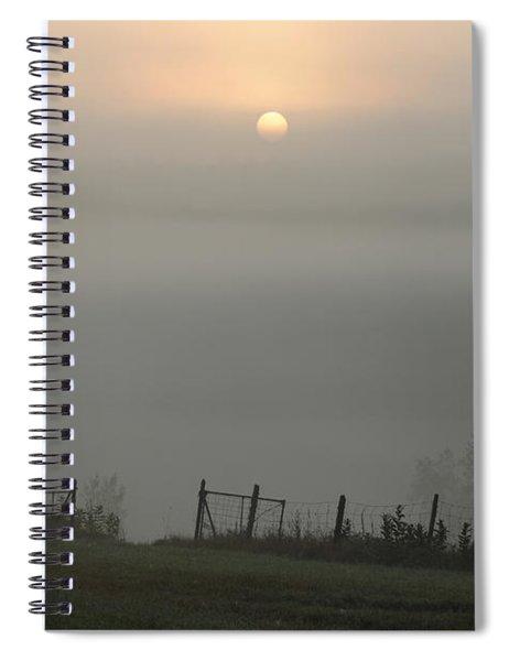Maine Morning Spiral Notebook