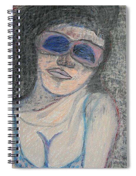 Maine Woman Spiral Notebook
