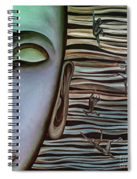 Mainstream Climbing Spiral Notebook