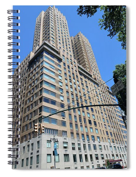 Majestic Apartments Spiral Notebook