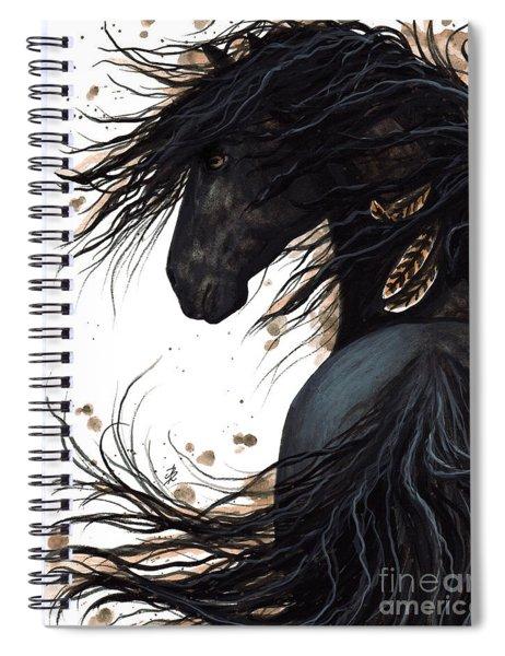 Majestic Friesian 143 Spiral Notebook