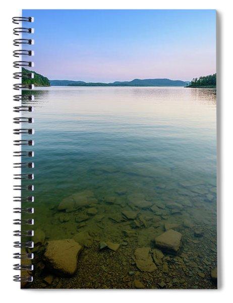 Majestic Lake Spiral Notebook
