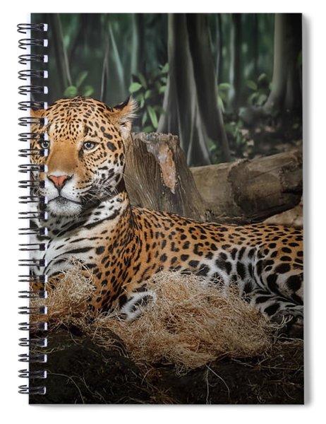 Majestic Leopard Spiral Notebook