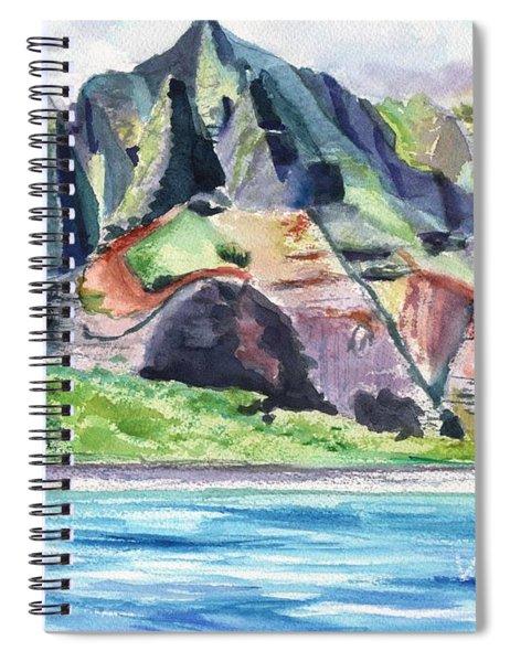 Majestic Na Pali Coast Spiral Notebook