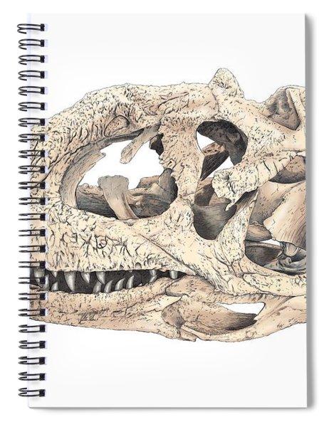 Majungasaur Skull Spiral Notebook