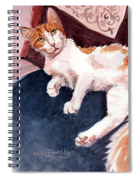 make yourself at home - Mr Fox Spiral Notebook