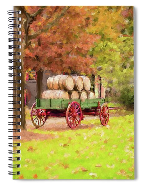 Maker's Mark Spiral Notebook