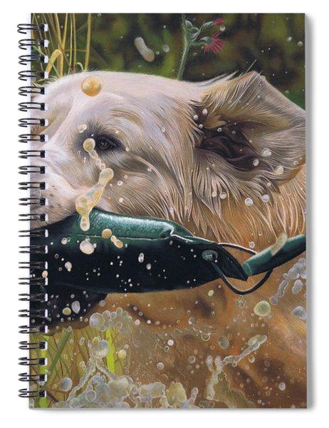 Making A Splash Spiral Notebook