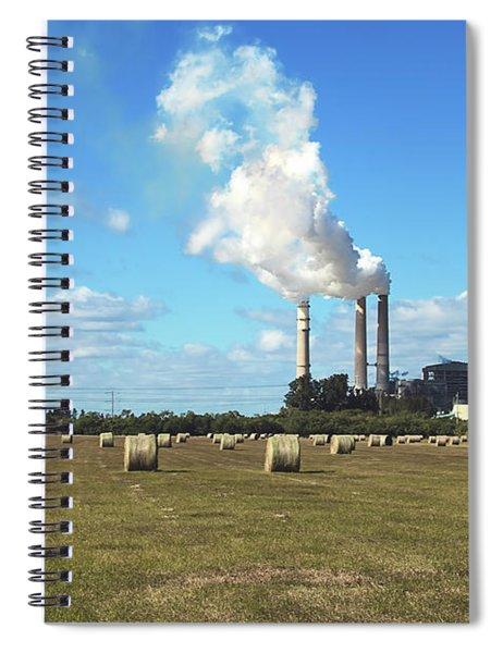 Making Hay Spiral Notebook