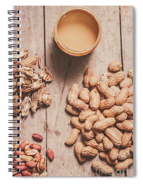 Making Peanut Butter Spiral Notebook