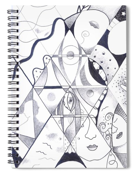 Making Points In Multiple Perspectives Spiral Notebook