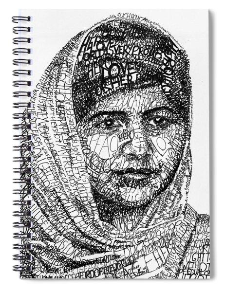 Malala Yousafzai Spiral Notebook