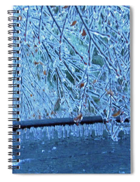 Malibu Icicles Spiral Notebook